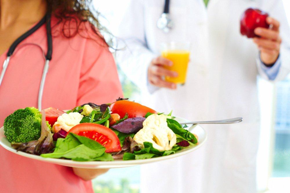 Диета при заболевании печени, при ожирении и увеличенной